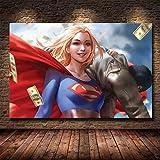 yaoxingfu Puzzle 1000 Piezas Pintura de Imagen de película de Super heroína Puzzle 1000 Piezas clementoni Rompecabezas Educativo de Juguete para aliviar el estrés intelectual50x75cm(20x30inch)