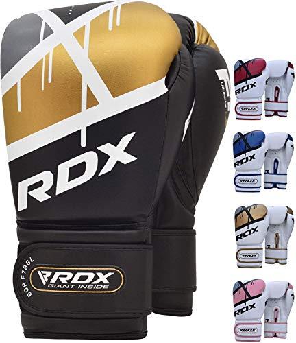 RDX Guantes de Boxeo para Entrenamiento y Muay Thai | Maya Hide...
