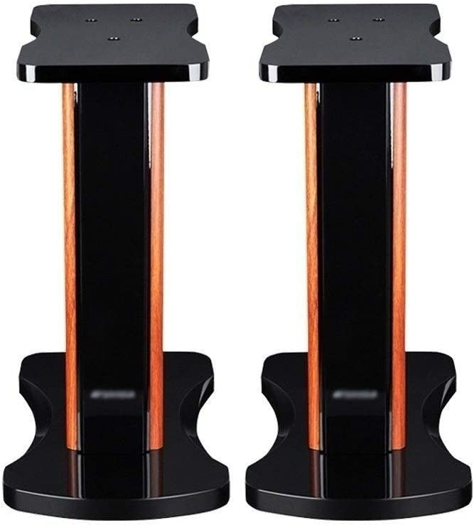 Fort Worth Mall BXYXJ Monolith Speaker Stands - Award 20 Grain Piano Inch Wood Paint +