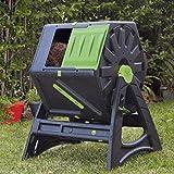 UPP - Compostiera a tamburo, 105 l, ventilazione interna, sicura...
