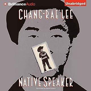 Native Speaker audiobook cover art