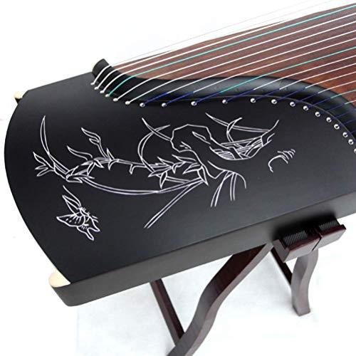 NHY Ebony Guzheng, Instrument Chinese Zither, Geburtstagsgeschenk oder Festival,