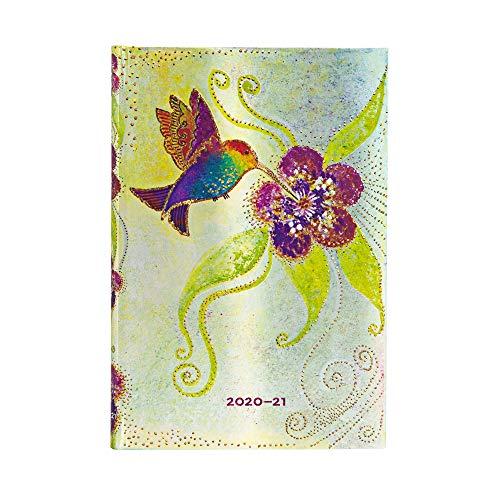 Paperblanks Agenda 13 mesi 2020-2021 2021 Colibri   Orizzontale   Mini (95 × 140 mm)