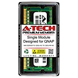 A-Tech 8GB RAM for QNAP NAS Server TS-1263U-4G; TS-1263U-RP-4G | DDR3 1600MHz SODIMM PC3-12800 204-Pin Non-ECC Memory Upgrade Module