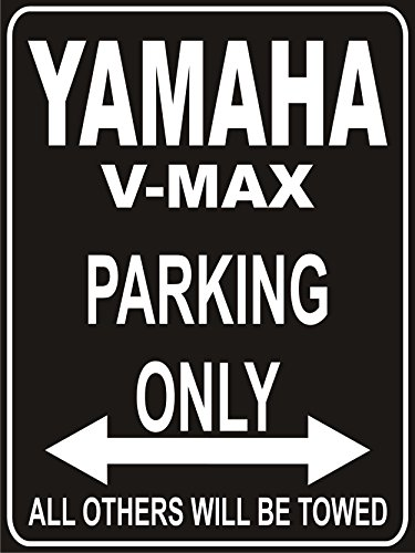 INDIGOS UG - Parkplatz - Parking Only Yamaha V-Max - Parkplatzschild