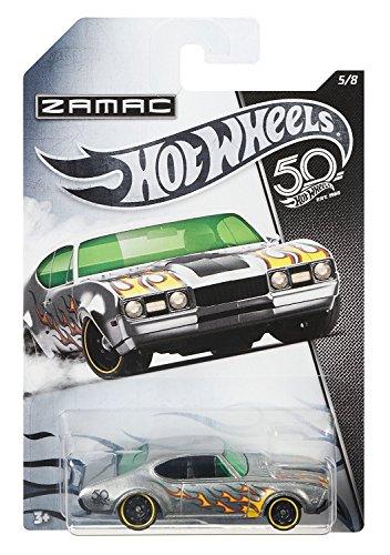 HW Hotwheels 50th Anniversary ZAMAC FRN28 – 1968 Olds 442 5/8