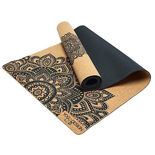Yoga Design Lab | Die Kork Yogamatte | Umweltfreundlicher Luxus | Ideal für Hot Yoga, Power, Bikram, Ashtanga, Schweißtreibende Workouts |...