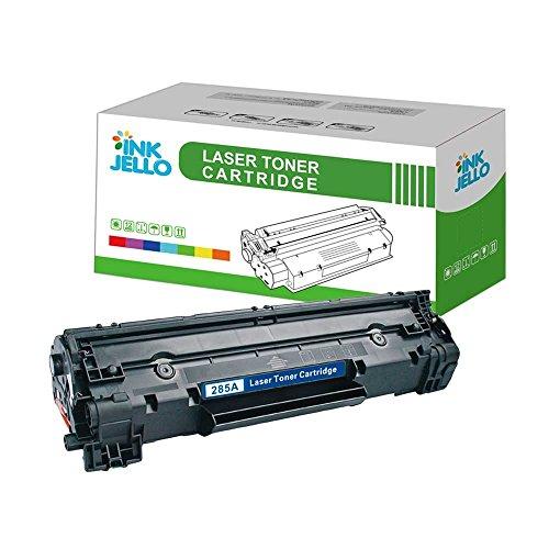 InkJello - Cartucho de tóner Compatible para HP Laserjet Pro M1132 MFP M1212nf M1214nfh M1217nfw P1100 P1102 P1102w P1104 P1104w CE285A/CRG-725 (Negro)