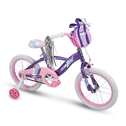 Huffy 18' Glimmer Girls Bike, Amethyst