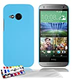 Coque Rigide Ultra-Slim HTC ONE MINI 2 [Le Pearls Premium] [Bleu lagon] de MUZZANO + 3 Films de...