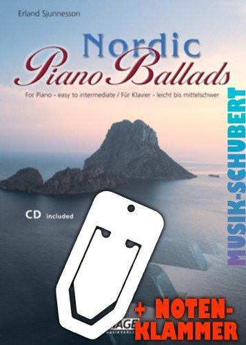 Nordic piano Ballads (+ CD, con pratica clip-17wunderschoene sognante Melodie per pianoforte a Moderato impostato (broschiert (Banconote/holzweißig by HAGE Musikverlag