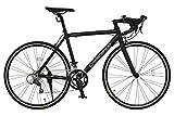 タイヤサイズ:700×25C フレームサイズ:500mm サイズ(横×高さ×幅):1650×905×470mm 重量:11.2kg 変速:SHIMANO16段変速