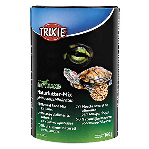 Trixie 76274 Naturfutter-Mix für Wasserschildkröten, 1.000 ml/160 g