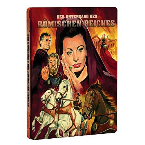 Der Untergang des Römischen Reiches (Limited Steelbook Klassiker Edition) [Blu-ray]