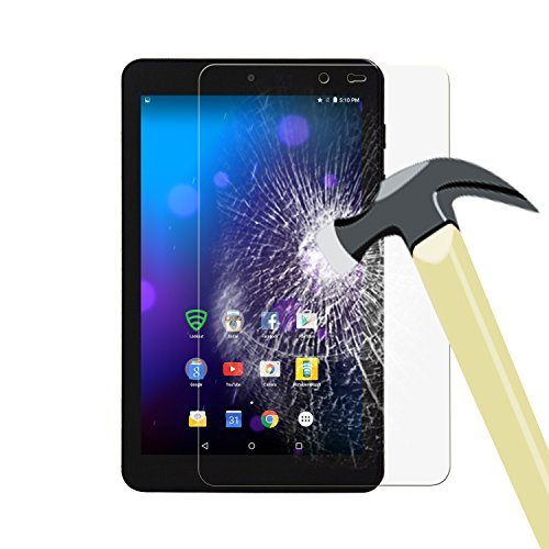 ACdream Sprint Slate 8 Screen Protector, Tempered Glass Screen Protector for Sprint Slate 8 (AQT80) 4G LTE Tablet