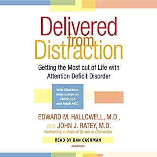 Delivered From Distraction audiobook cover art