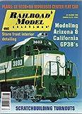 Railroad Model Craftsman, vol. 67, no. 1 (June 1998) (Modeling Arizona & California GP38s; Plans: GE U23B€¢NH Depressed Center Flat Car; Store Front Interior Detailing; Scratchbuilding Turnouts)
