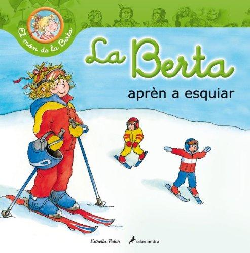La Berta aprèn a esquiar (El món de la Berta)
