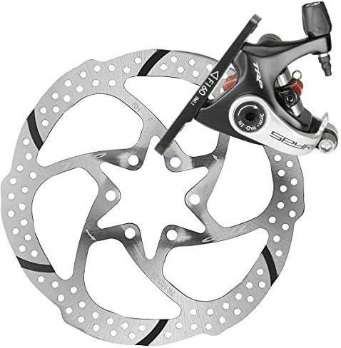 TRP Spyre C Road Bicycle Mechanical Disc Brake Front 180 Caliper Black,no Rotor