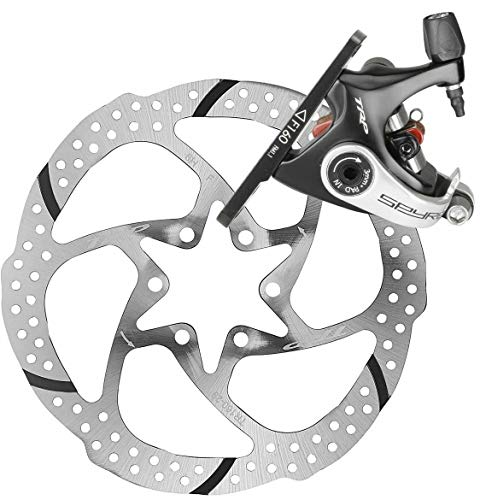 TRP SPYRE Flat Mount Road Alloy Mechancial Disc Brake Caliper Rotor Rear 160mm