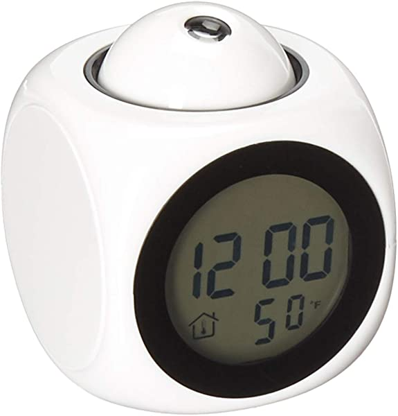 Rhode Island Novelty Eclcdcl 3 75 LCD Projection Clock