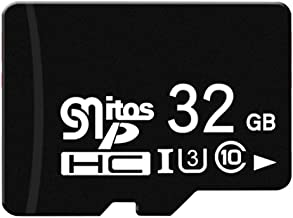32GB Micro SD Card Class 10 with Adapter,UHS3 SDHC Flash Memory Card,TF Card Reader High Speed