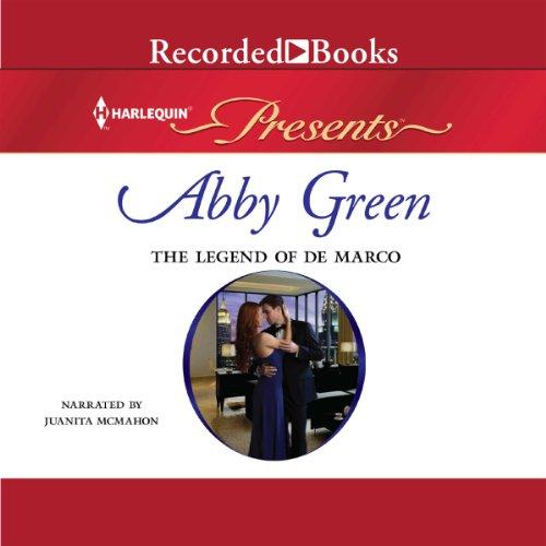 The Legend of de Marco audiobook cover art