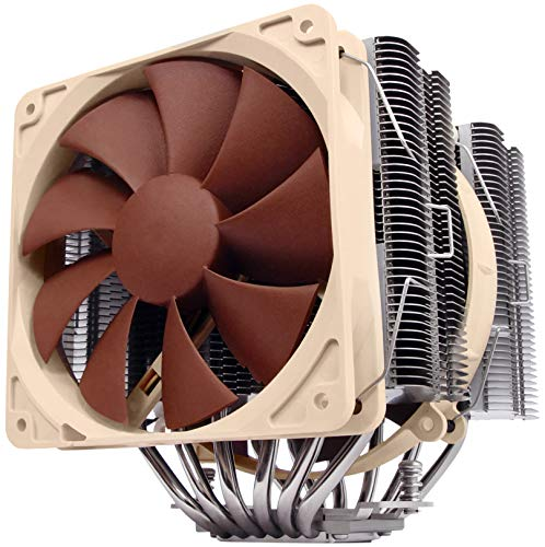 Noctua NH-D14, Premium CPU Cooler with Dual NF-P14 PWM and NF-P12 PWM...
