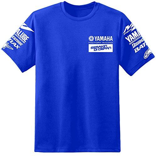 Herren YZR M1 Factory Racing T Shirt (S-2XL) Yoshimura YZF R1 R6 Fazer Rossi VR 46 (2XL)