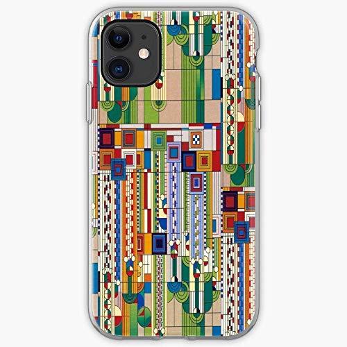 Compatible con iPhone Samsung Xiaomi Redmi Note 10 Pro/9/8/9A/Poco M3 Pro Funda by Frank Saguaro Lloyd Wright Cajas del Teléfono Cover