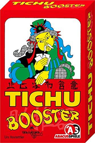 ABACUSSPIELE 08163 - Tichu Booster, Erweiterung für Tichu, Kartenspiel