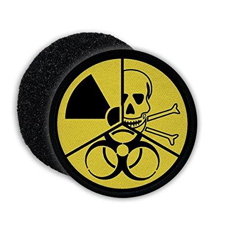 Copytec Patch ABC Abwehr Schutz atomar biologisch chemisch Gefahr Waffe Bundeswehr Bundesheer Aufnäher Symbol Abzeichen Truppe Airsoft#21805