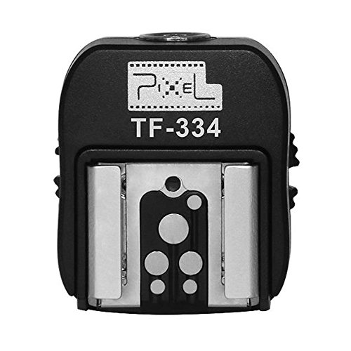 Pixel Hotshoe Adapter with Pc Port for Sony A7 A7S A7SII A7R A7RII A7II NEX6 RX1 RX1R RX10 RX100II HX50 A6000 A6300 to Canon Nikon Flash Speedlite and Flash Trigger