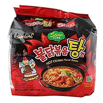 Max 64% OFF 2021 autumn and winter new Samyang Bulldark Spicy Fried Chicken Noodles Ramen Stew Roasted