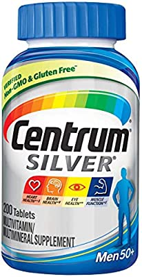 Centrum Silver Ultra for Men Multivitamin Multimineral Supplement - 250 Tablets from CENTRUM