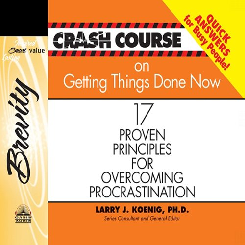 Crash Course on Getting Things Done audiobook cover art
