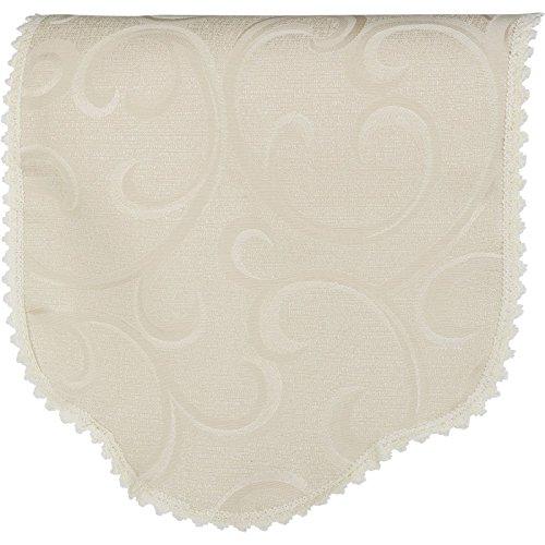 QPC Direct Swirl Design Chair Back (Cream)