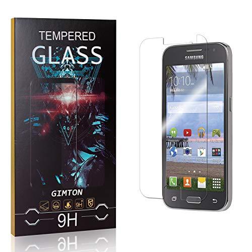 GIMTON Verre Trempé pour Galaxy Core Prime, 3D Touch Ultra Résistant Protection en Verre Trempé Écran pour Samsung Galaxy Core Prime, sans Traces de Doigts, 1 Pièces