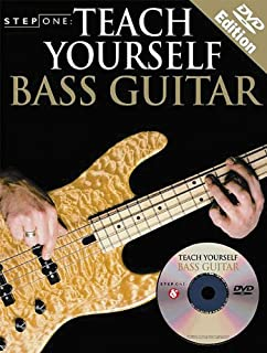 Step One Teach Yourself Bass Guitar: DVD Edition (0825629586) | Amazon price tracker / tracking, Amazon price history charts, Amazon price watches, Amazon price drop alerts