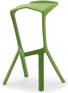 Tellgoy-Chair Sillas Creative Dining Sala de Estar, Diseño Moderno Sillas de Cocina PP Material, Sillas Taburetes para Comedor Cocina Dormitorio Office Lounge Restaurante,B,X1