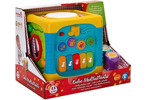 Globo Toys 5173 Vitamina _ G Essaye-Moi d'activité Cube avec lumières Sons
