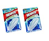 Hearos Multi-Purpose Reusable Silicone Ear Plugs Includes Free Case, 2 Pair (Pack of 2)