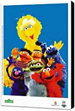 Pop Culture Sesame Street 11 x 17 TV Poster - Brazilian Style A - Museum Wrapped Canvas