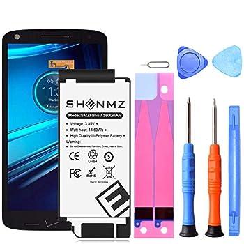 Motorola Droid Turbo 2 Battery,[3800mAh] SNN5958A FB55 Replacement Battery for Motorola Droid Turbo 2 Moto X Force XT1585 with Repair Toolkit