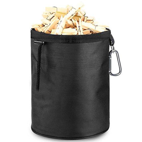Infreecs Premium Wäscheklammerbeutel, Wäscheklammerkorb/Handtasche für Wäscheklammerbeutel/Klammersack/Klammerbeutel für bis zu 200-300 Wäscheklammern