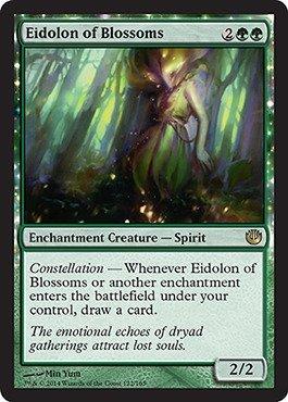 Magic The Gathering - Eidolon of Blossoms (122/165) - Journey into Nyx