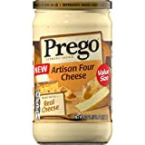 PACKED WITH REAL CHEESE: Traditional Italian alfredo sauce gets a cheesy kick with white cheddar cheese, Asiago, Romano, and Parmesan cheese SUPER CREAMY & THICK: Silky smooth texture coats pasta well, working great with spaghetti, fettucine, and lin...