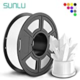 【SUNLU PLA+ has higher strength and stiffness, and 10*Times tougher than PLA filament 【Advanced Production】SUNLU filament has the lowest tolerance value in the entire 3D printing filament industry, amazingly reached 1.75mm +/- 0.02mm. 【Smooth And Del...