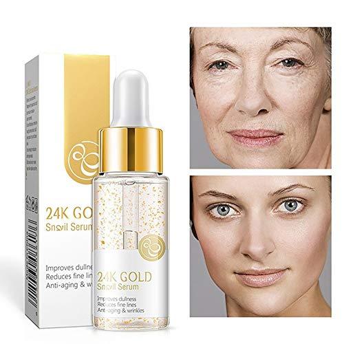 Natural Natural Anti-envejecimiento Esencia Facial Que Contiene 30 Ml De Caracol Extracto Tiene Un Brillante Puede Mejorar La Piel Suavizar La Tez.