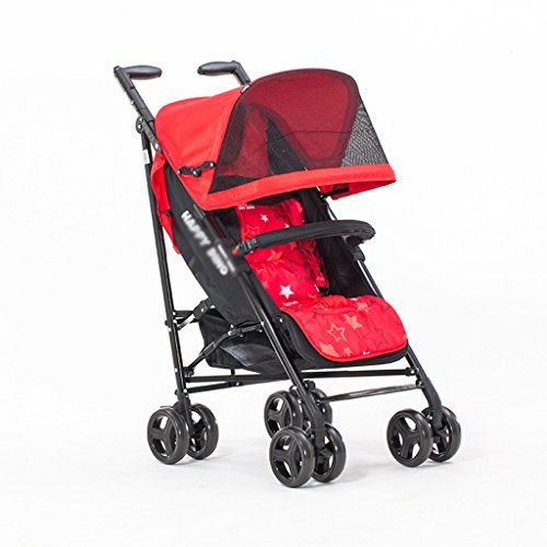 Why Choose Lightweight Folding Cart Baby Trolley Can Lie Down Summer Very Easy Portable Folding Dura...